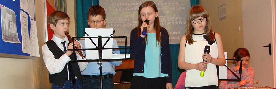 Wiosenny Koncert Świetlicowy (kwiecień 2013r.