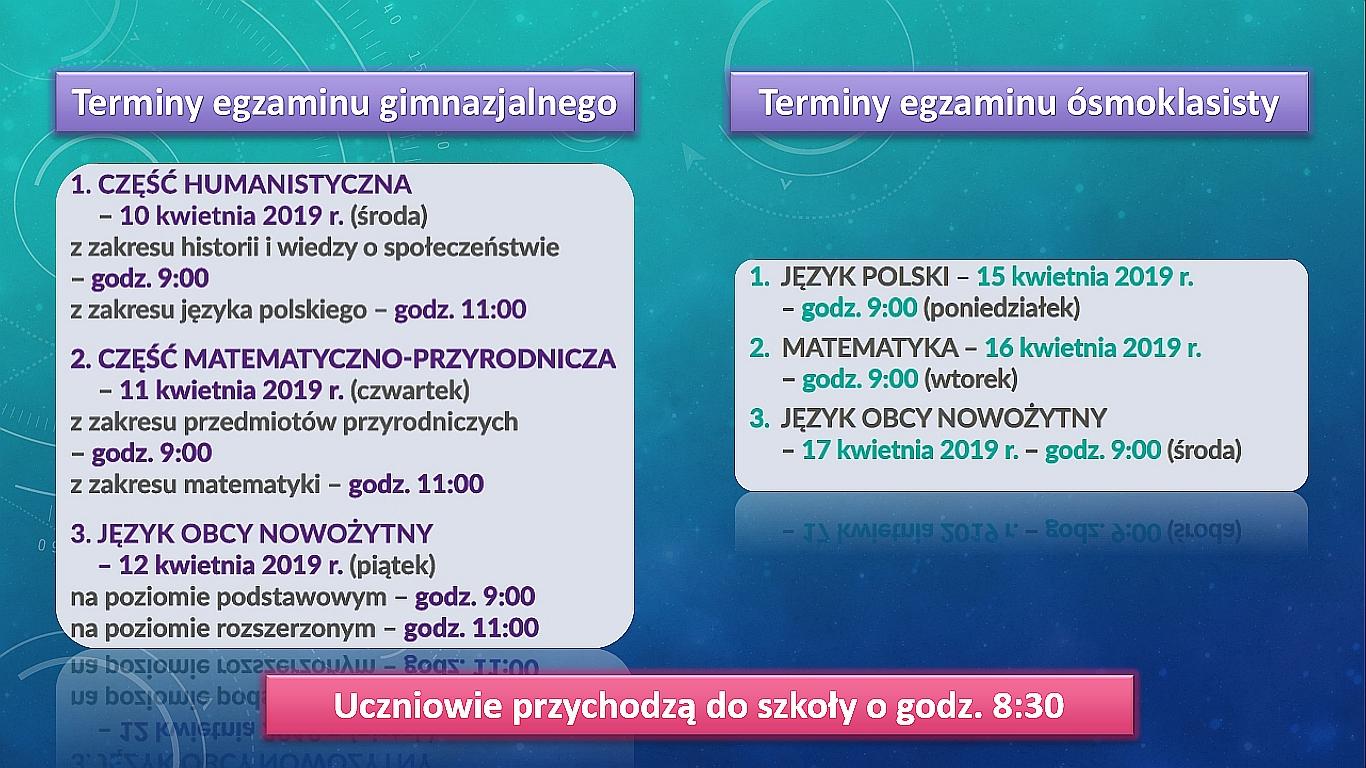 terminy_egzaminów_2019