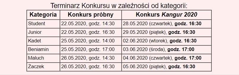 Kangur_terminarz_2020