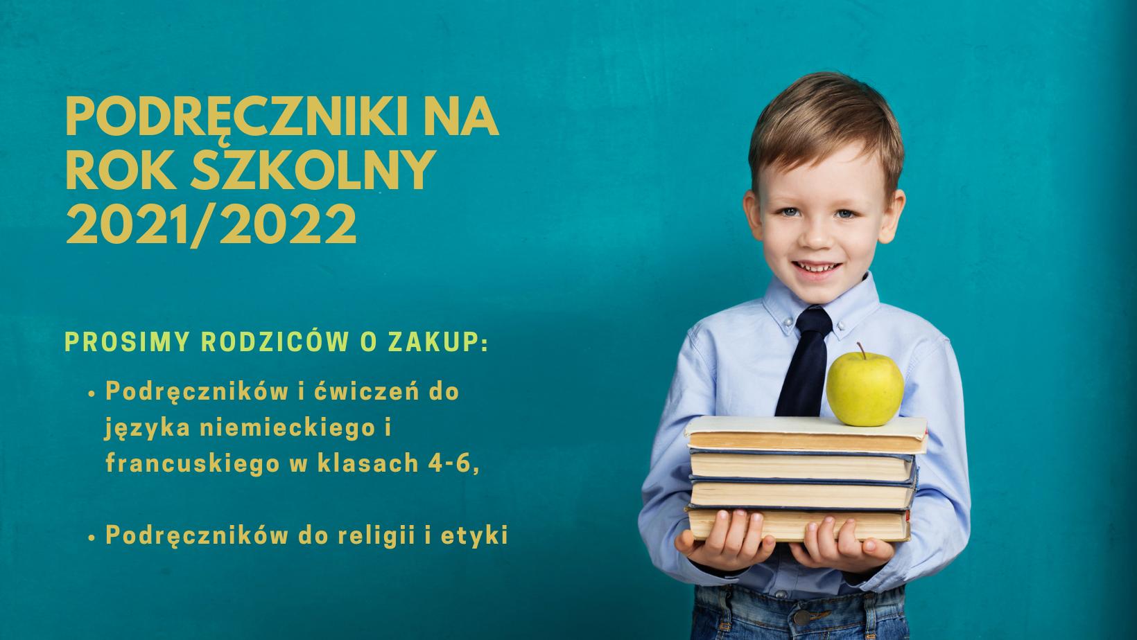 Podręczniki na rok szkolny 20212022